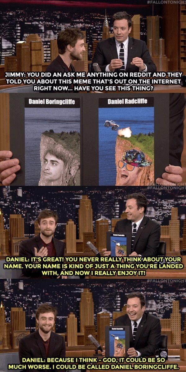 I think Daniel Radcliffe really enjoyed his AMA