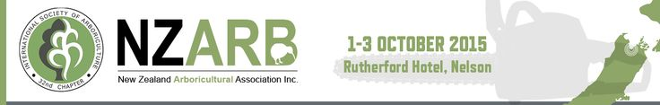 Web header for an arborist conference.