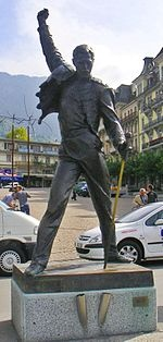 Freddie Mercury – Wikipedia...this would look awesome in my bar, lol