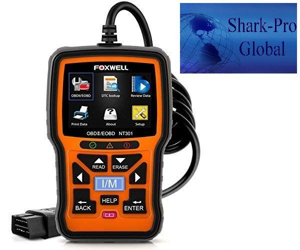 Foxwell Nt301 Obd2 Scanner Professional Enhanced Obdii Diagnostic Code Reader Obd2 Scanner Obd2 Coding