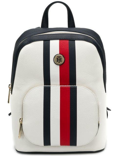 54122f536bc Tommy Hilfiger stripe trim backpack   bag in 2019   Tommy hilfiger ...