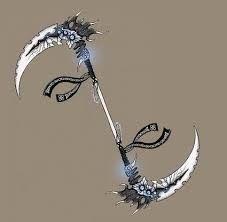 double headed scythe-Soul's weapon