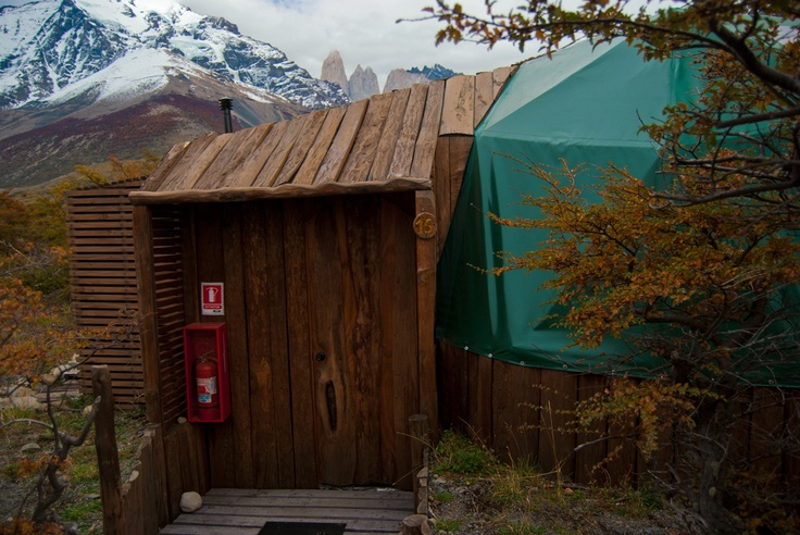 EcoCamp has just 2 Superior Domes, the perfect upgrade for trekkers wanting heating and a private bathroom   http://www.ecocamp.travel/Domes/Superior