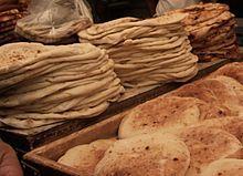 Israeli cuisine - Fresh Israeli pita bread, yum!
