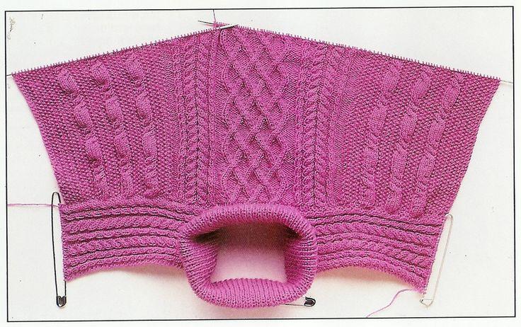 Pullover stricken ohne Naht