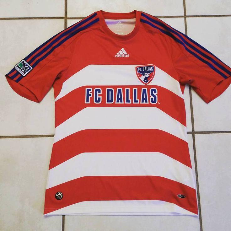 ADIDAS FC Dallas MLS Soccer Jersey #jerseys#soccer#dallas#fcdallas#mls#futbol#football#instafootball