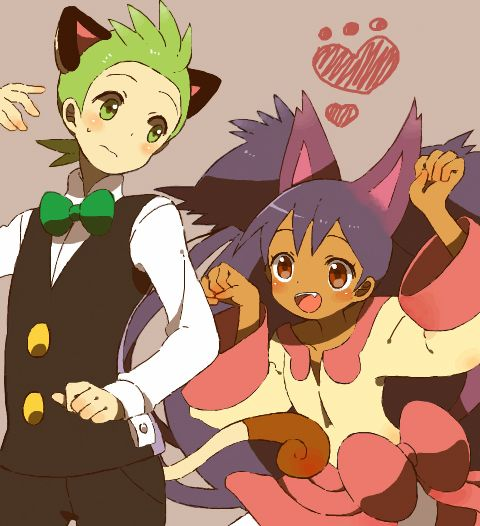 1000+ images about ☆Ash, Iris and Cilan☆ on Pinterest ...
