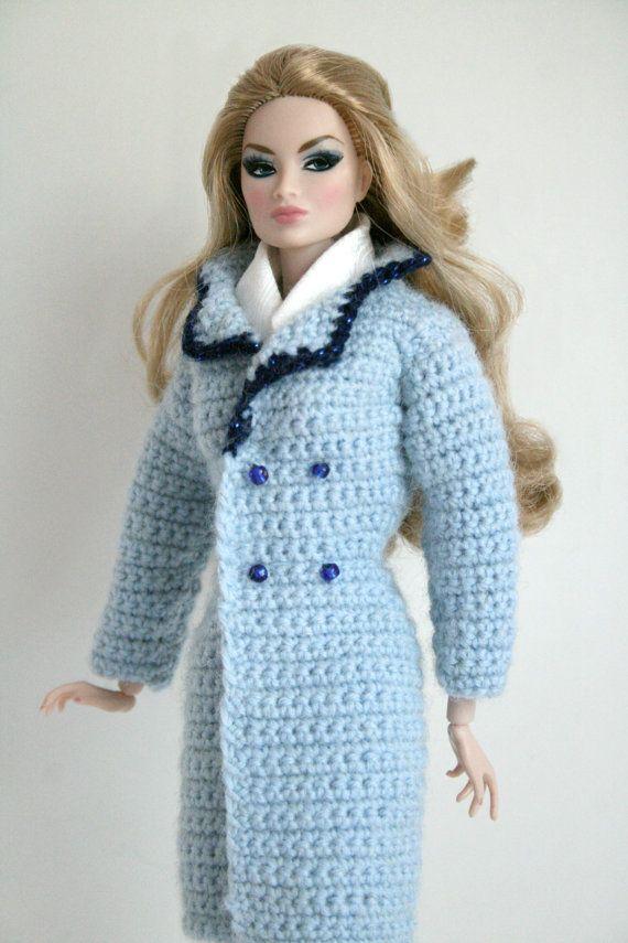 Light Blue Sweater Coat