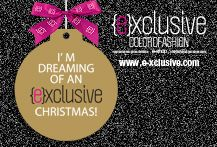 I'm dreaming of an {e}xclusive Christmas!!
