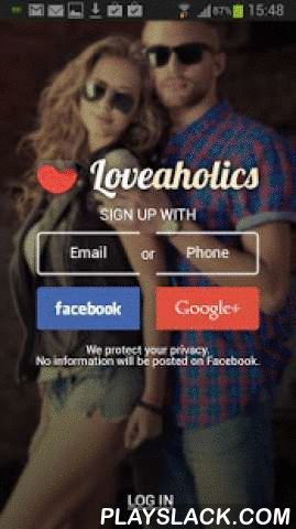 Loveaholics: Online Dating App  Android App - playslack.com , The Loveaholics dating app aims to connect all fun-loving singles seeking online dating and fun and friendship in chat rooms. Exciting, handy, and extremely popular, this dating service is proud of its thousands of members who are online daily.Once you've installed the Loveaholics dating app you can:- Create a profile with your photo- Browse singles' personals from around the globe- Wink at members you fancy- Have fun in free chat…