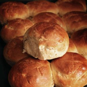 Ψωμάκια μπριός σε 40′