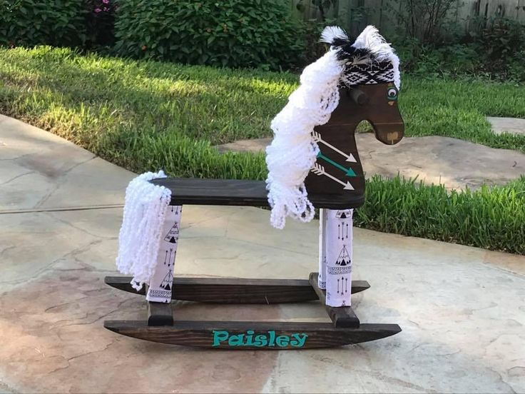 Custom Rocking Horse - Tell Us How You Want It!