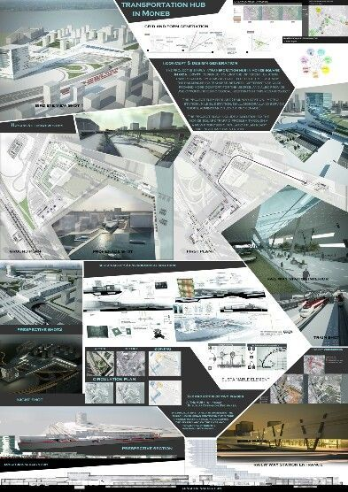 Architecture Graduation Transportation hub