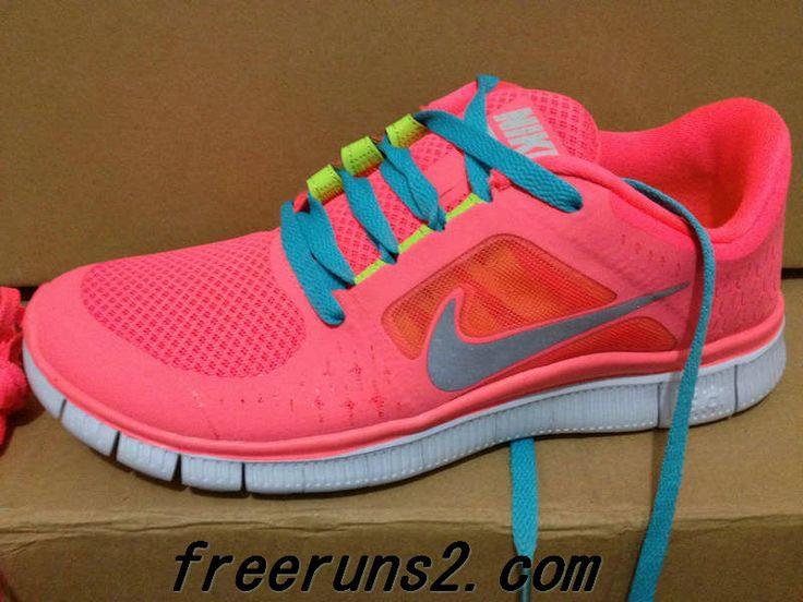 Mens Hot Punch Reflective Silver Sol Volt Chlorine Blue Lace Nike Free Run  3 Sneakers 2013