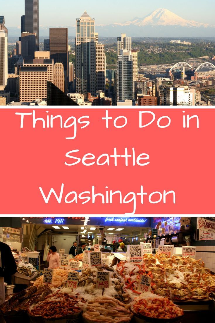 Seattle is an easy city to maneuver around and see all the sights within a long weekend. From going up the Space Needle, eating at Pike Place Market, walking along the marina, shopping downtown, enjoying Olympic National Park. These are all the many thing
