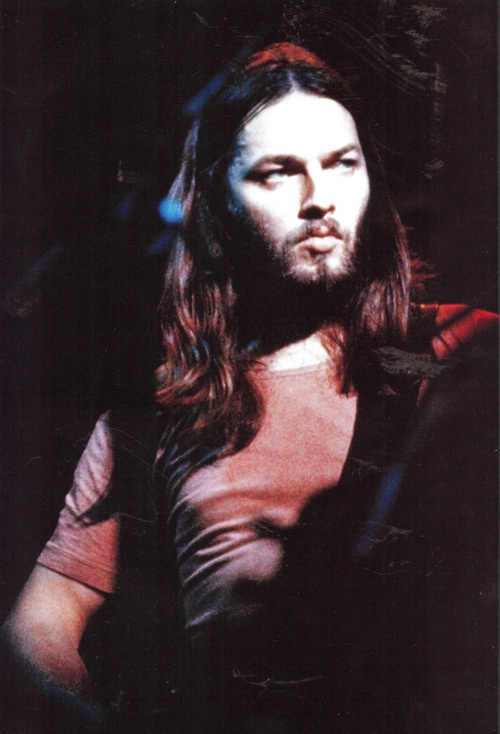 David Gilmour. It's crazy how much my boyfriend looks like Dave Gilmour. Can't complain.