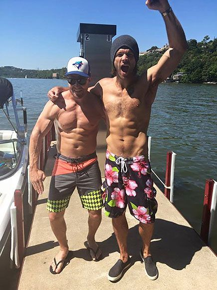 Jared Padalecki and Stephen Amell Raise Awareness for Mental Health (by Going Shirtless!) http://www.people.com/article/jared-padalecki-shirtless-photo