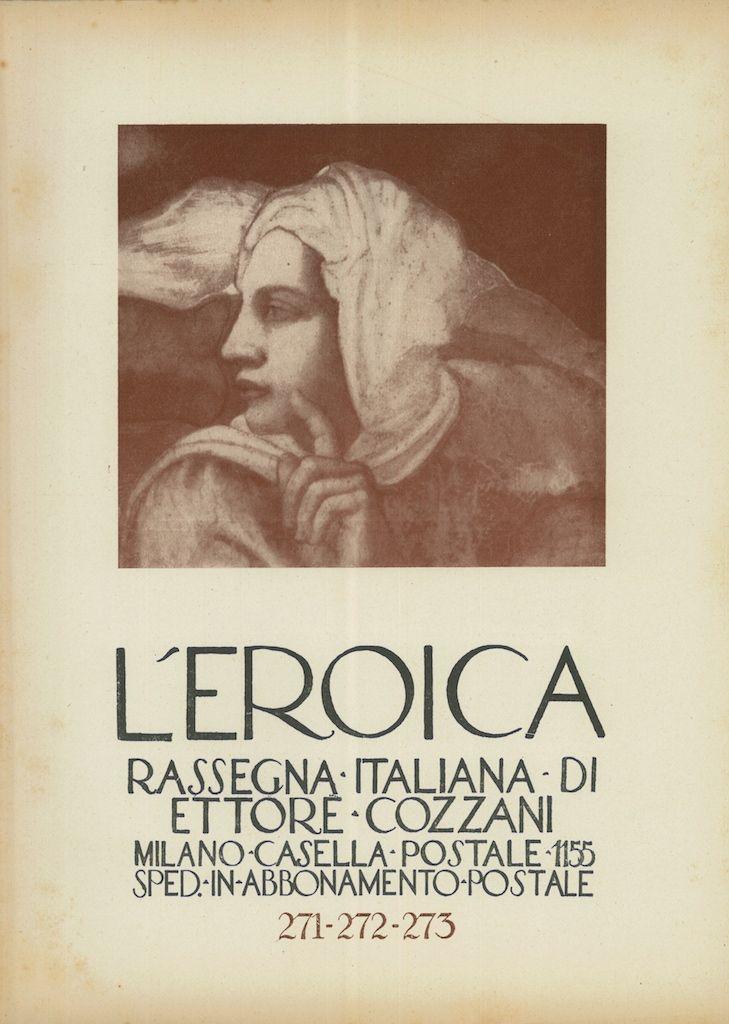 L'Eroica, quaderno numero 271-272-273 - #scripomarket #scripofilia #scripophily #finanza #finance #collezionismo #collectibles #arte #art #scripoart #scripoarte #borsa #stock #azioni #bonds #obbligazioni