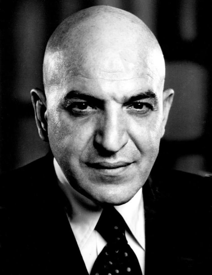 TELLY SAVALAS (1922 - 1994)