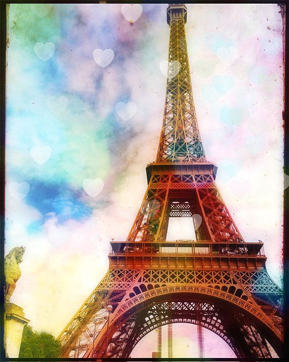 Eiffel Tower Photography Paris Wall Art Print Eiffel