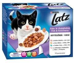 kissalle ruuat hyytelössä