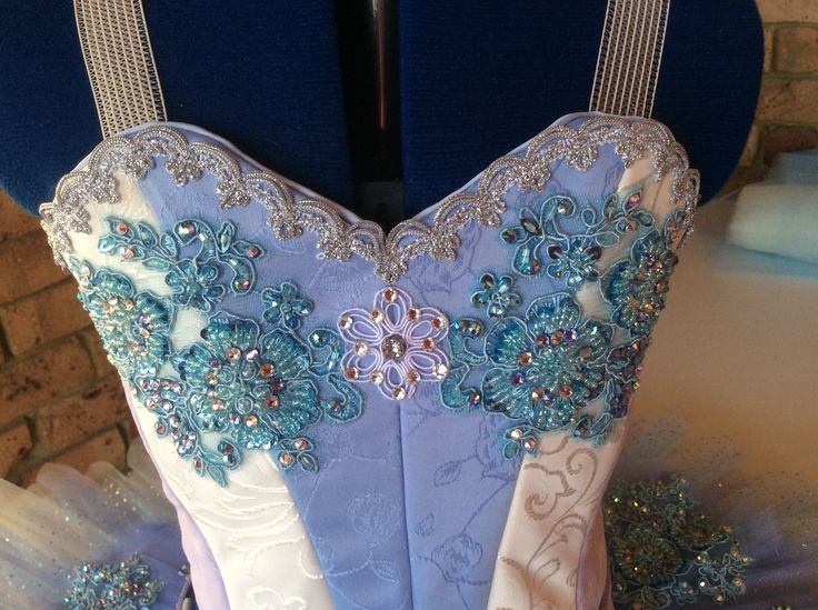 Latest bodice decorated