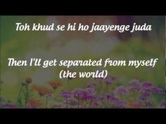 "#NowPlaying SuperHit #Bollywood #Love_Song ~ ""Tum Hi Ho"" (you are the only one, just you...are my love, my romance...) 2013's Aashiqui 2's Title Track [Lyrics with English Translation] - YouTube...Music by Mithoon, Sung by Arijit Singh"