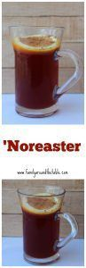 Warm up with a tasty 'Noreaster. #CranberryWeek • Family Around the Table