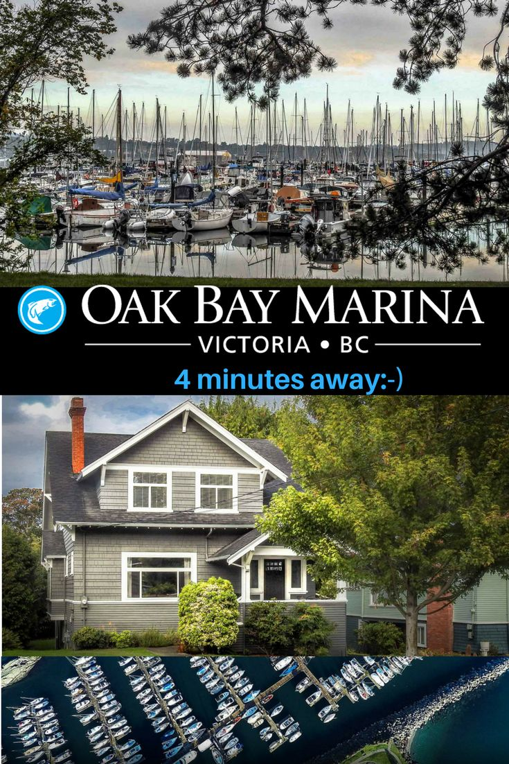 Oak Bay Marina & Restaurant 4 minutes away from 1572 Monterey Home For Sale in Oak Bay ~ ask Ivan Delano PREC sutton group west coast realty for all the extras 250-744-8506