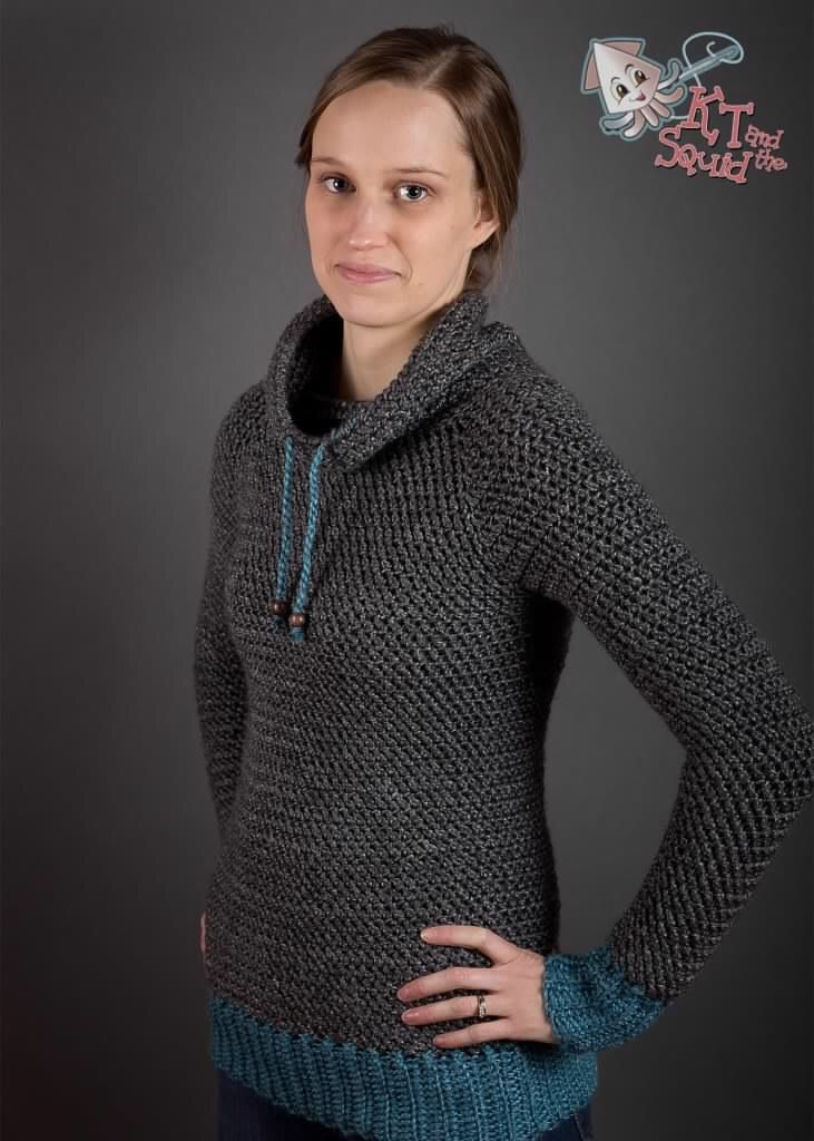 My Favorite Pullover Crochet Pattern KT and The Squid makes beautiful patterns but my favorite of hers to this date is the new pullover. It's the perfect weight and the look is classy yet modern and the best part is the sizes are from kid to adult! To jazz this up even more, try alternating …