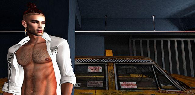 Taxi Fare #SL #SecondLife #PourSLHomme #MRSLFeed