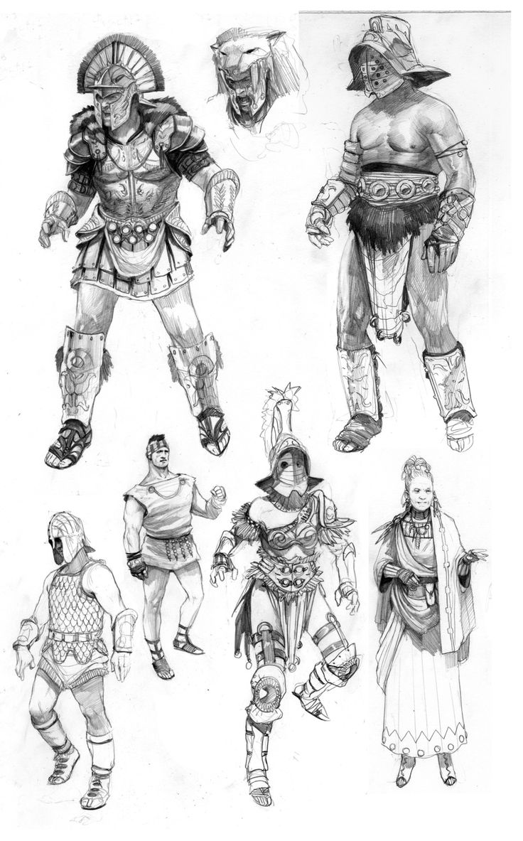 Character Design Challenge Gladiator : Best images about gladiators mario del rey on