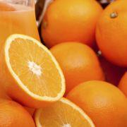 Salade met kalkoen, sinaasappel en waterkers