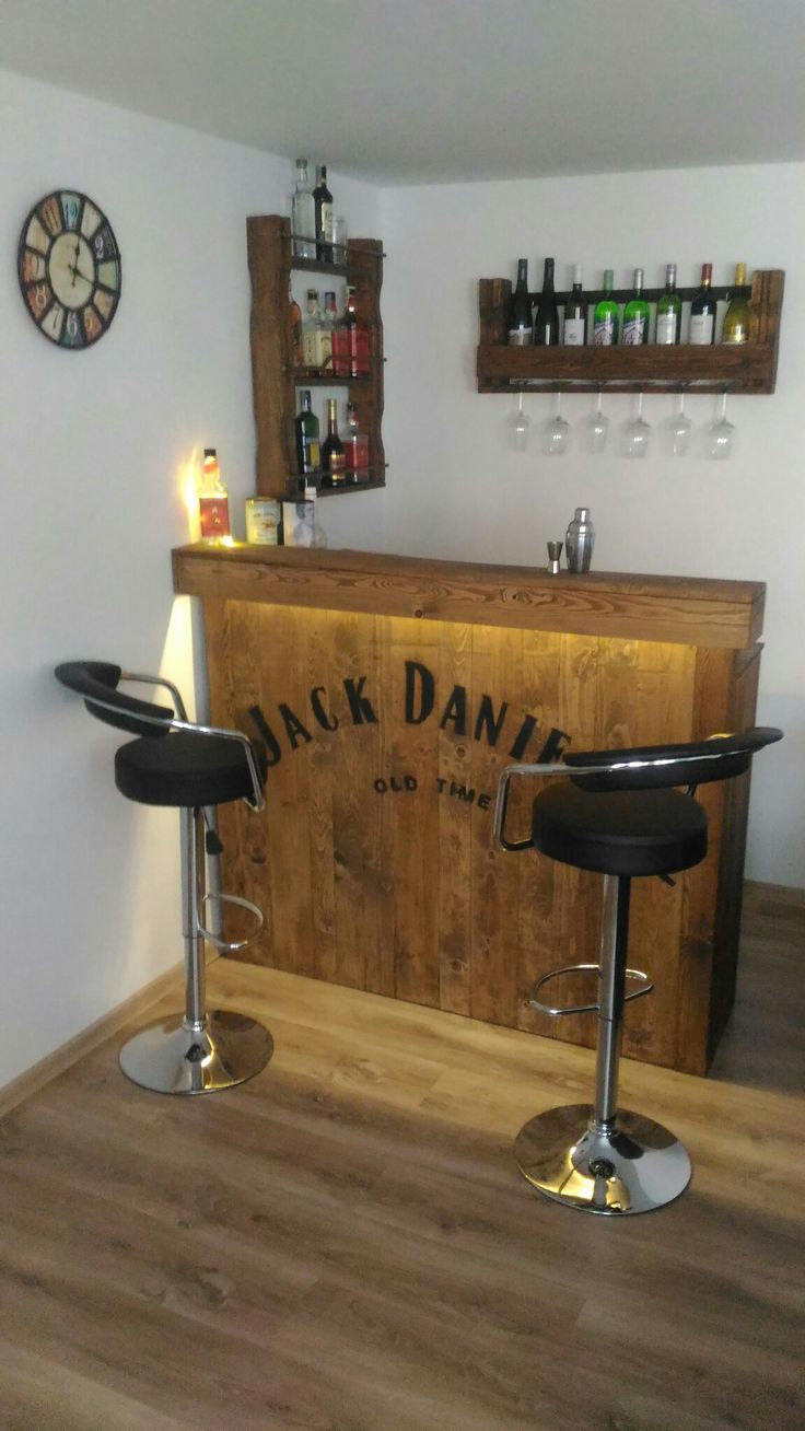 BAR JACK DANIELS WOOD WINE WHISKEY