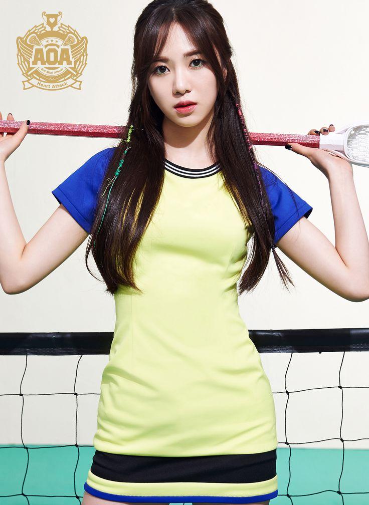 AOA (Heart Attack) [3rd Mini Album] - Kwon Mina