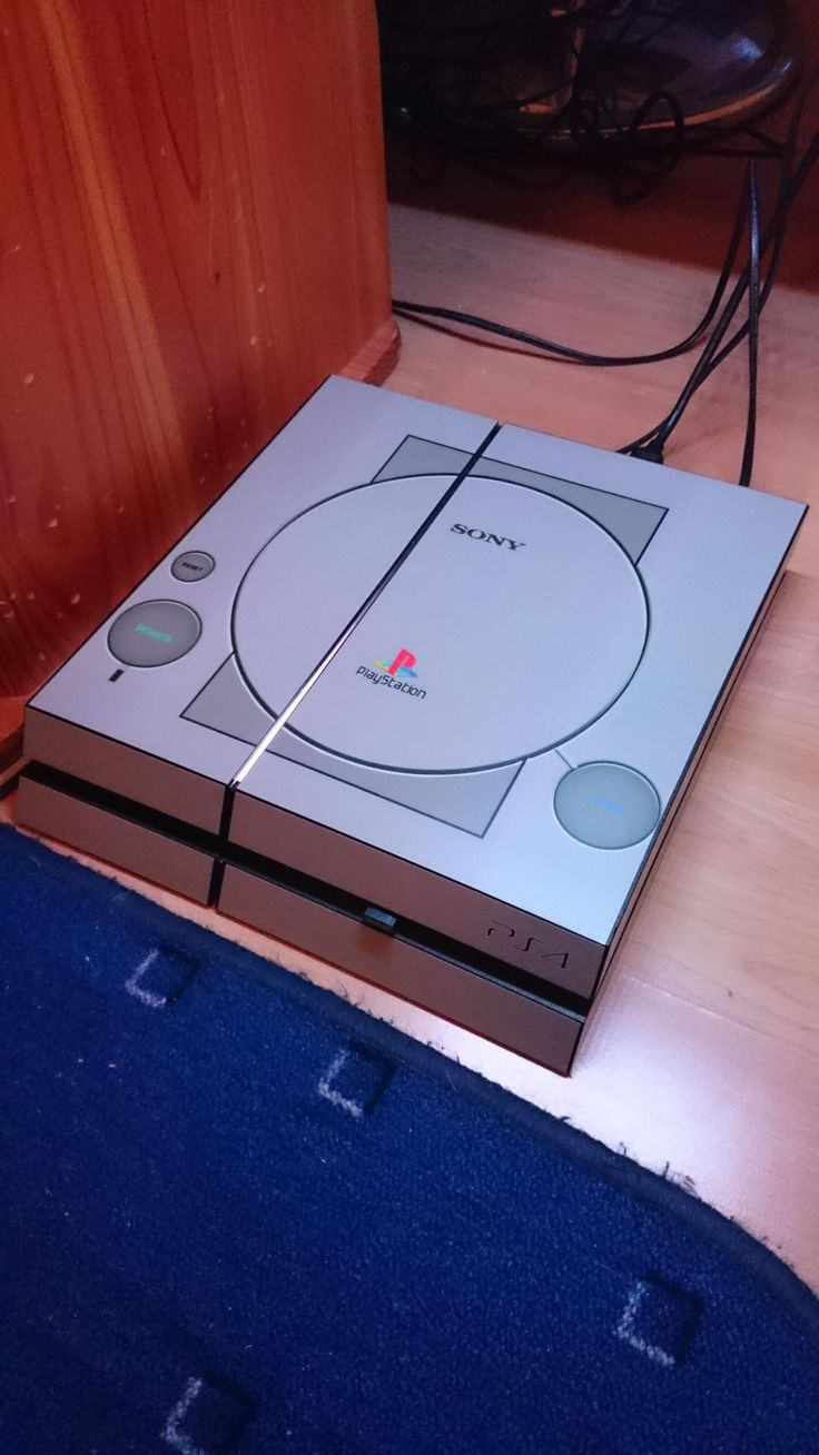 PS1 skin for PS4