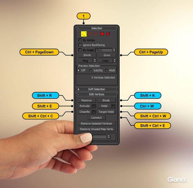3D Tutorials - 3dsMax Shortcut Keys - Architect Dose