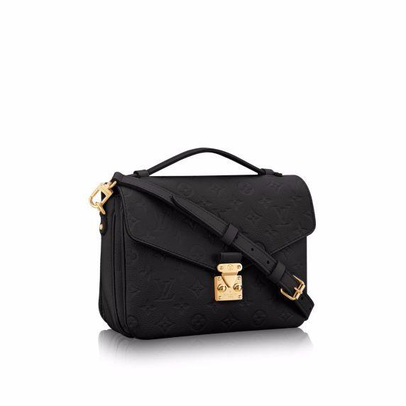 Louis Vuitton Noir Pochette Metis Bag