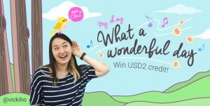 Having an awesome day? Share and win USD2 credit. #migmyday