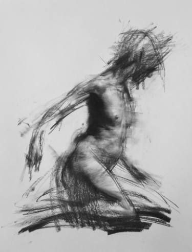 "Saatchi arte artista Lim Zin;  Dibujo, ""Allegro no.32 (Spiccato)"" #art"