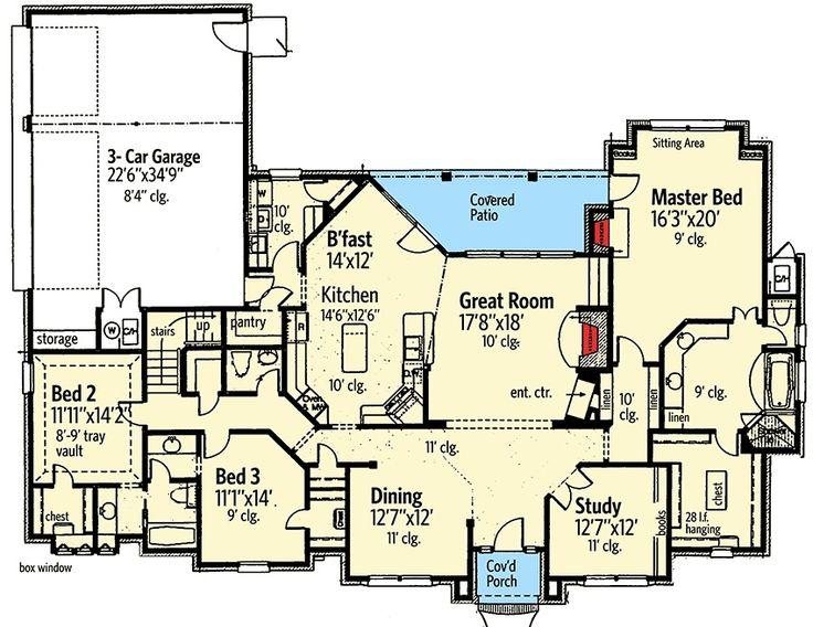 192 best House Plans images on Pinterest | House blueprints, Small ...