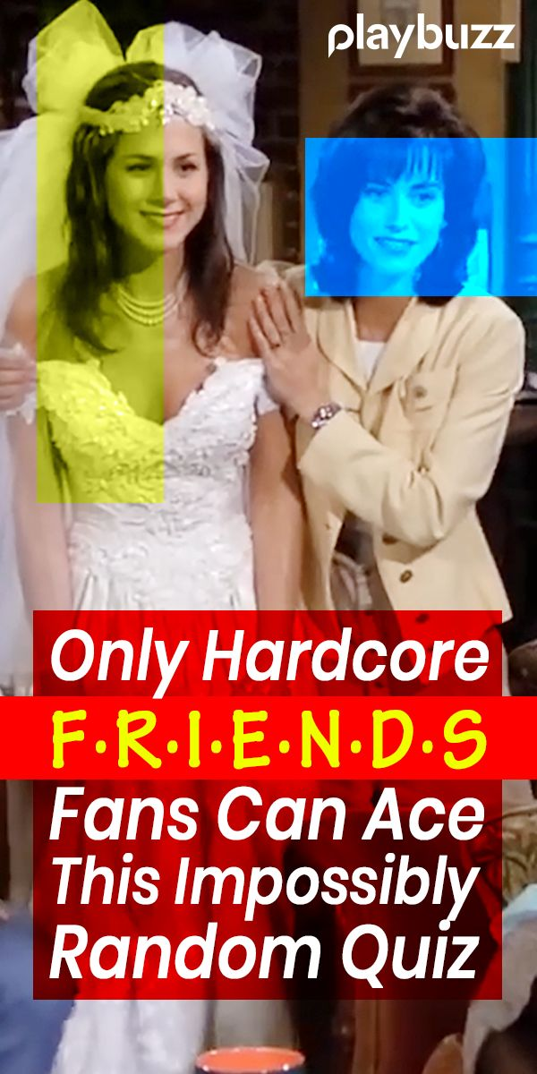 The Impossibly Random FRIENDS Quiz Friends quizzes tv