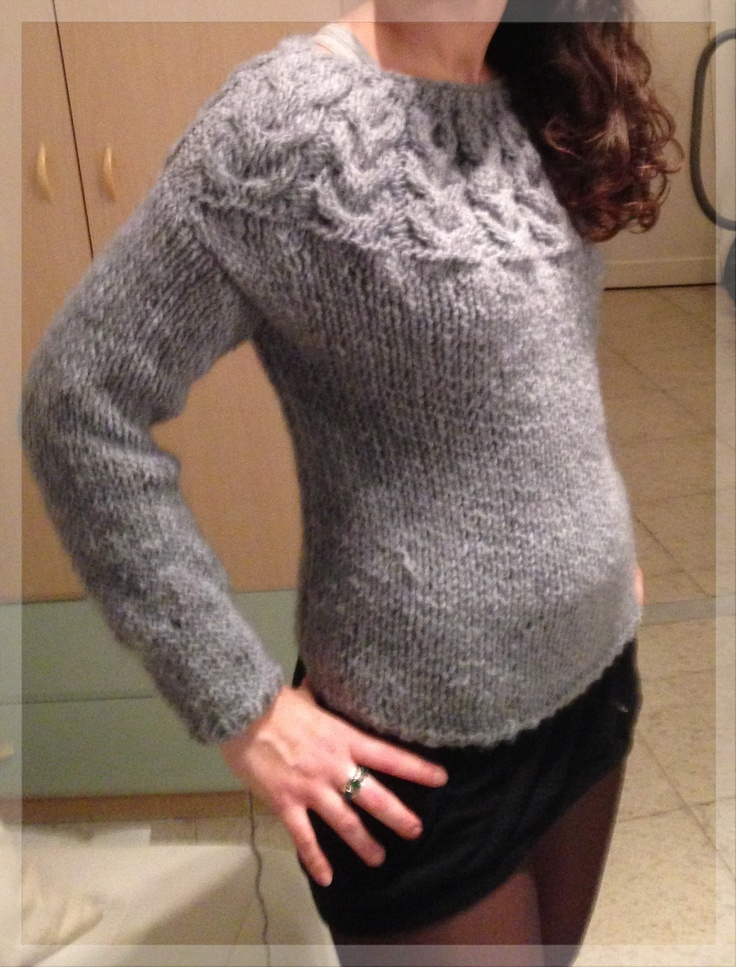 Il maglione con i gufi #finito