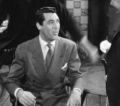 Cary Grant in Arsenic And Old Lace,  His facial expressions are fabulous! GIF
