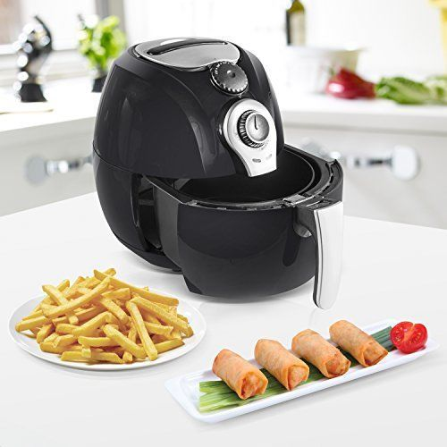 Air Fryer 3 3 Qt No Oil Cooking for Healthy Low Fat Meals Touchscreen Controls