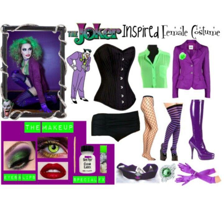 M s de 25 ideas incre bles sobre disfraz de wason en - Disfraz joker casero ...