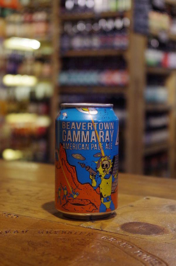 Beavertown Brewery // Gamma Ray American Pale Ale 5.4% ABV. Hops: Columbus, Bravo, Amarillo, Citra & Calypso.