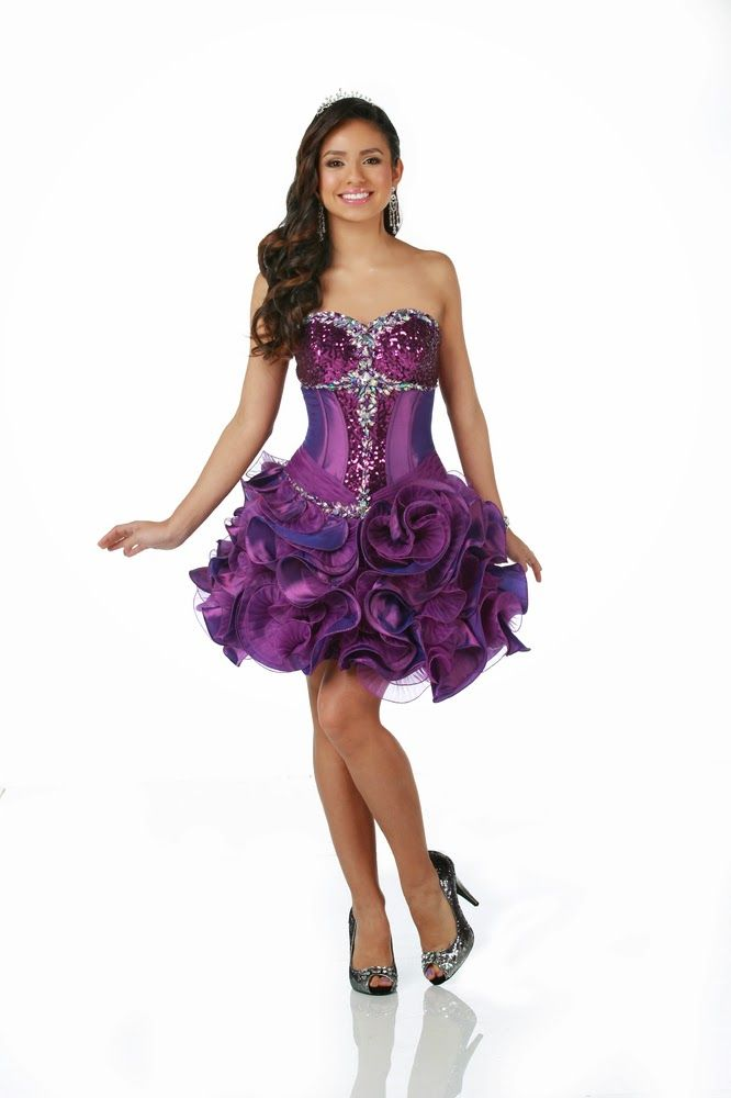 36 best Vestidos images on Pinterest | Prom party dresses, Ball ...