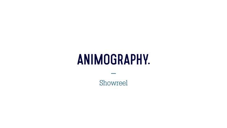 Animography Showreel