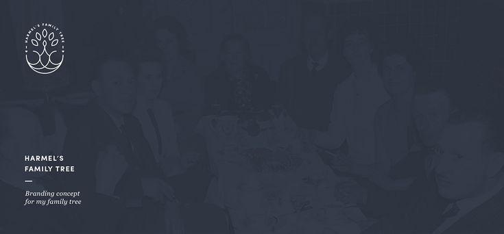 Harmel's Family Tree • Branding on Behance